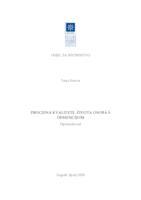 prikaz prve stranice dokumenta Procjena kvalitete života osoba s demencijom