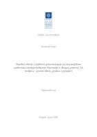 prikaz prve stranice dokumenta Nasilni zločini i njihovo procesuiranje na županijskim sudovima srednjovjekovne Slavonije u drugoj polovici 14. stoljeća - pravni okvir, praksa i primjeri